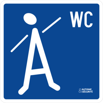 Pictogramme Autisme - WC