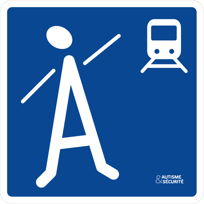 Pictogramme Autisme - Train