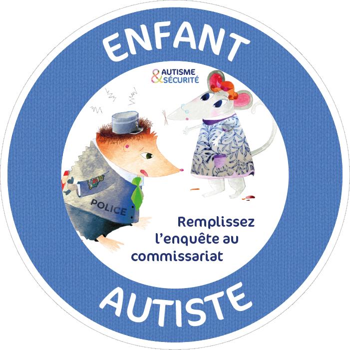 Enfant Autiste - Remplissez l'enquête au commissariat